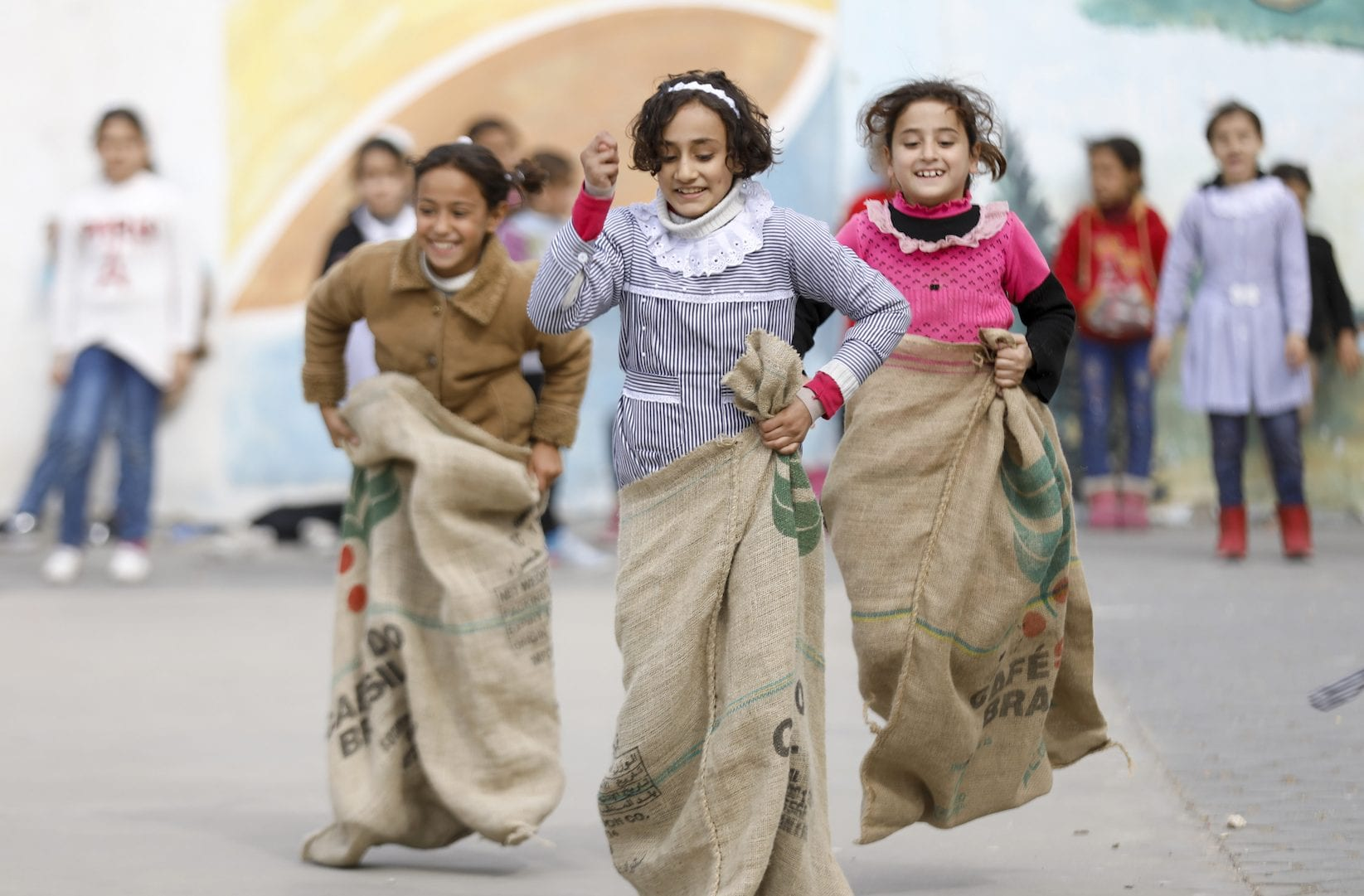 Join UNRWA USA's Relay Run for Refugees; it's going to be the Run of the Century!