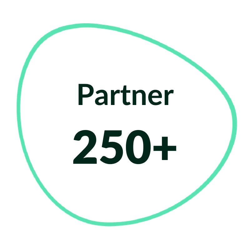 Über 250 Partner