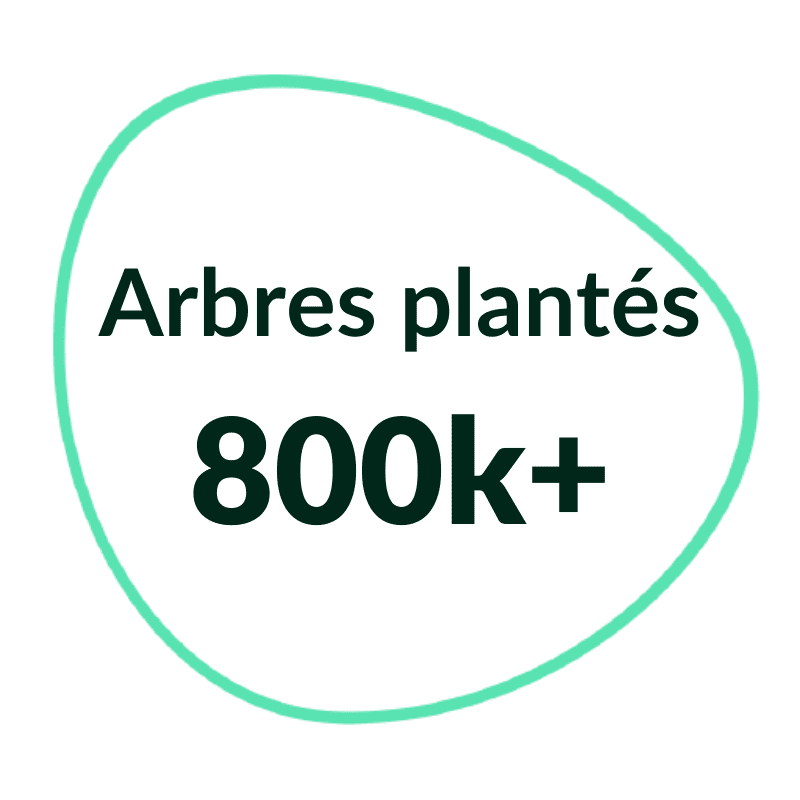 800k+ trees planted